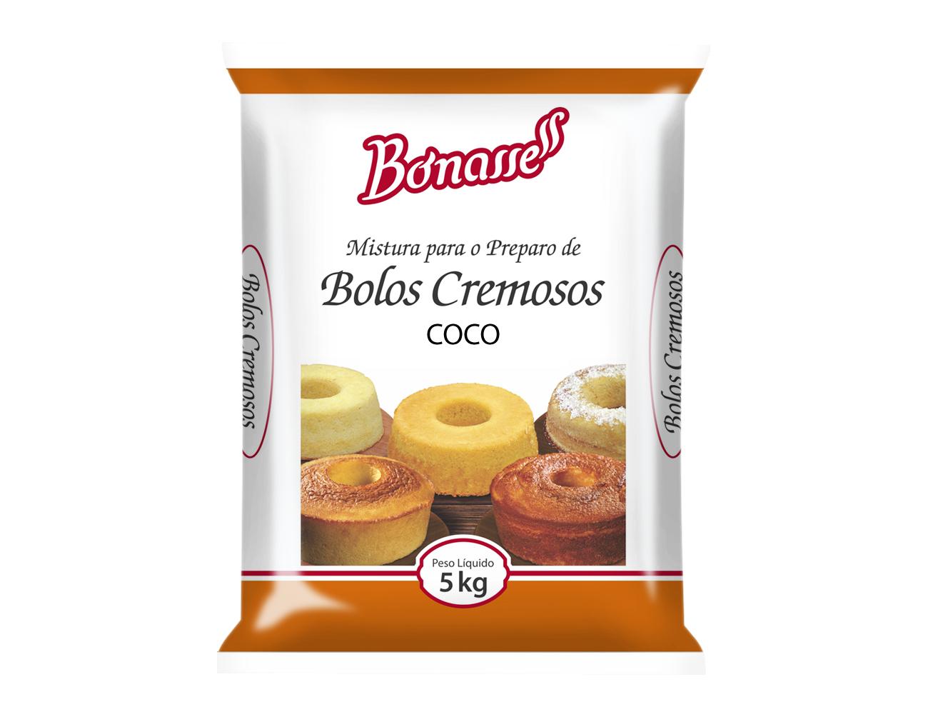 Mistura Bolo Cremoso de Coco