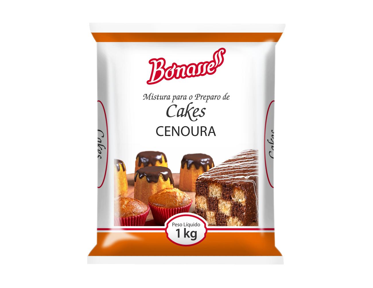 Mistura Cake Cenoura