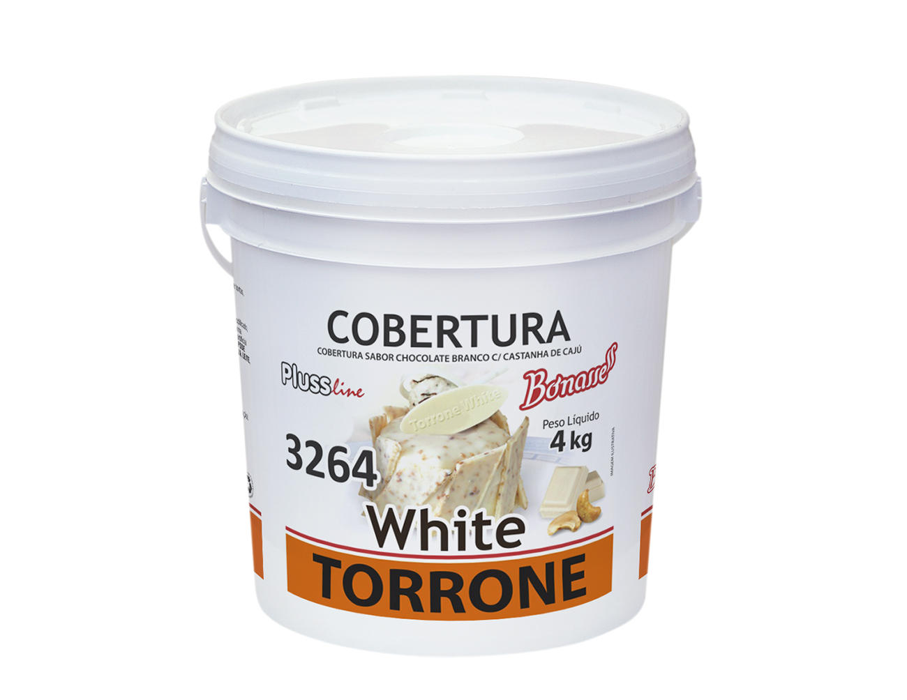 Cobertura Torrone White