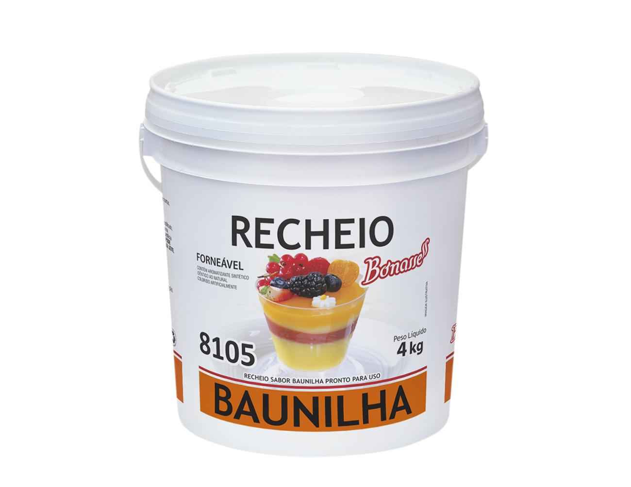Recheio Baunilha